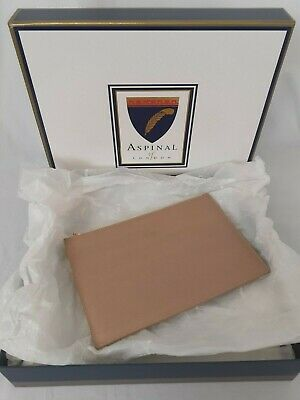 £5 • Buy Aspinal Of London Clutch Bag Padded Zip Fastening New With Box 26Wx17Hcm