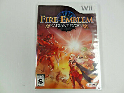 £144.73 • Buy Wii Fire Emblem Radiant Dawn NEW FACTORY SEALED Official North American Version