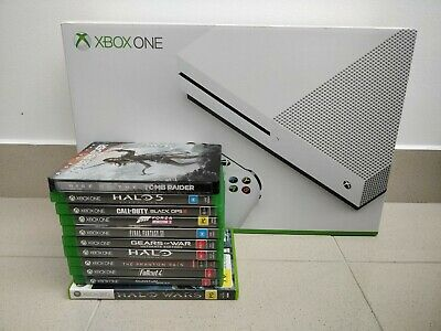 AU200 • Buy Xbox One S 500gb Console + Official Vertical Stand + 11 Games