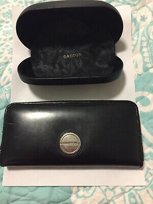 AU15 • Buy Genuine Leather Oroton Wallet And Sunglasses Case