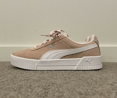 AU35 • Buy Puma Pink Suede Carina Sneakers Size US 7.5 Brand New