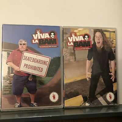 £7.88 • Buy Viva La Bam: The Complete First Season (DVD 2-Discs, 2003) Unrated 2 Disc No Box