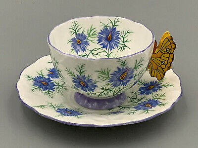 £335.75 • Buy Aynsley Vintage Art Deco Butterfly Handled Tea Cup And Saucer.Rare.