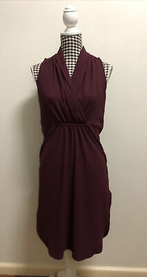 AU15.99 • Buy Forever New Dress Maroon - Size 8