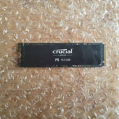 £84.99 • Buy **Weekend Clearance Sale** Crucial P5 M.2-2280 1TB SSD PCI Express 3.0 X4 NVMe