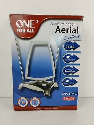 £12.60 • Buy One For All Amplified Indoor TV Digital Aerial SV9360