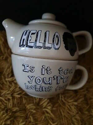 £19.99 • Buy Hello Is It Tea You're Looking For - Mug And Teapot Set