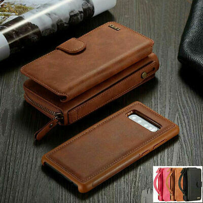 $ CDN21.15 • Buy For Samsung Galaxy S21 S20 S10 S9 Leather Removable Magnetic Wallet Case Cover