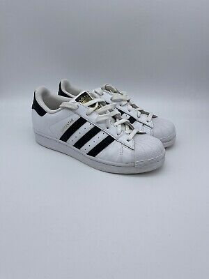 AU11.07 • Buy Adidas Originals Suprestar Women White Sneakers Leather Trainers Size 4 Uk