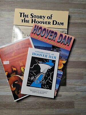 £10.86 • Buy HOOVER DAM Lake Mead, Valley Of Fire Guide History Map Lot Of 4