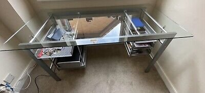 £5 • Buy Glass And Steel Desk