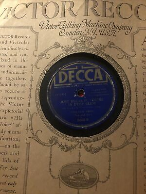 £17.38 • Buy Vintage 78rpm Records Lot With Two Records Shelton Brothers Decca Record Label