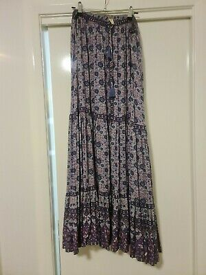 AU185 • Buy SPELL Maxi Skirt In Lilac,  Size Xl