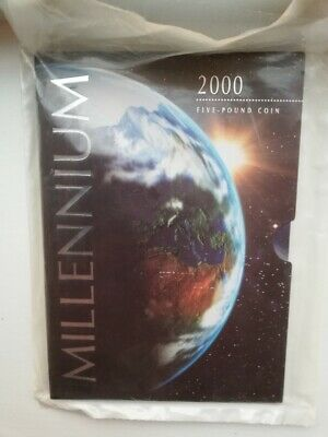 £19 • Buy £5 MINT (Sealed Bag) Millenium Coin 2000 Rare (ideal  21st Birthday Gift)