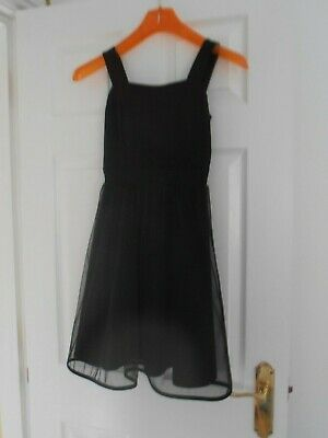 £6 • Buy Teenager Party Prom Dress : Little Black Dress Fitted Top Net Skirt Age 13 Ish