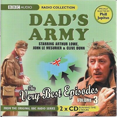 £4.79 • Buy Various - Dad's Army - The Very Best Episodes Volume 3 (2007) 2CD Audiobook