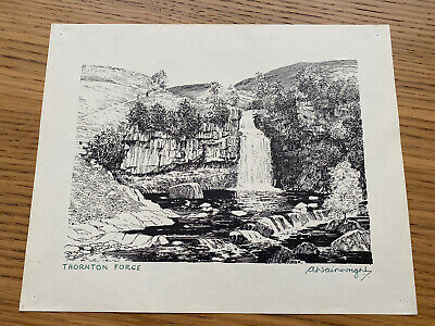£25 • Buy Alfred Wainwright Signed Print - Thornton Force