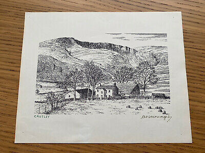 £25 • Buy Alfred Wainwright Signed Print - Cautley