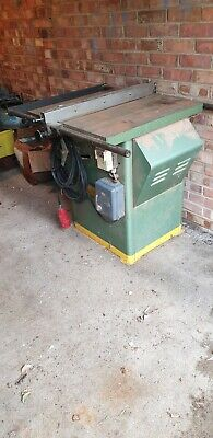 £300 • Buy Startrite 175  Tilting Arbor Table Saw With 3 Phase Converter
