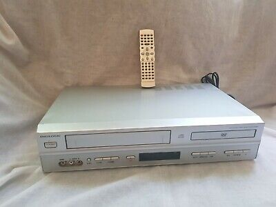 £49.99 • Buy Digilogic DVDVCR2 DVD Player, VCR VHS Video Recorder Combi - WORKING (no Remote)