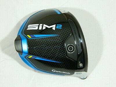 AU144.99 • Buy 2021 Taylormade Sim2 9* Driver Head Only - Sim 2 + Headcover