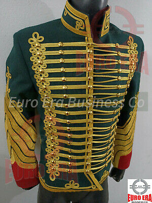 £197.79 • Buy Dolman Colonel Hunter On Horseback Of The Guard Hussar Military Tunic Jacket
