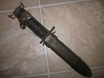 $169.99 • Buy Rare WWII US Army M1 Carbine Bayonet W/ Rubber Grips By Case & M8a1 Scabbard !!!