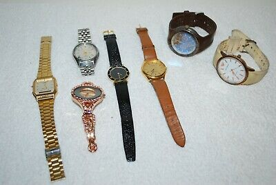 £14.50 • Buy Collection Of 7 Watches - Casio/Citizen/Emerson/Sekonda Some Work For Spares