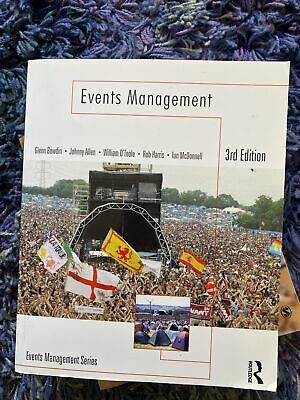 £15 • Buy Events Management. By William O'Toole, Johnny Allen, Glenn A. J. Bowdin & Ian...