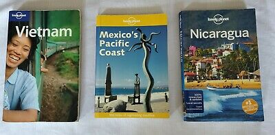 £8.62 • Buy Lonely Planet Travel Books, Vietnam, Mexico, And Nicaragua. Good Condition