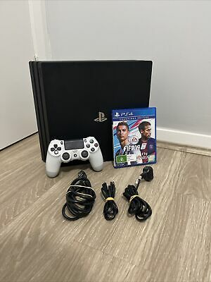 AU319 • Buy Sony Playstation 4 Pro Ps4 Pro 1tb Complete With Game