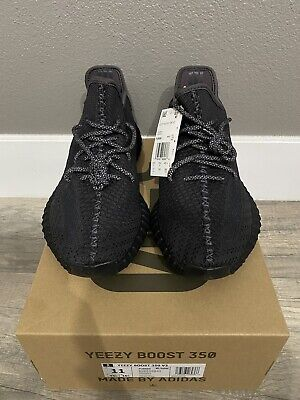 AU701.54 • Buy Size 11 - Adidas Yeezy Boost 350 V2 Black Non-Reflective 2019 100% Authentic DS