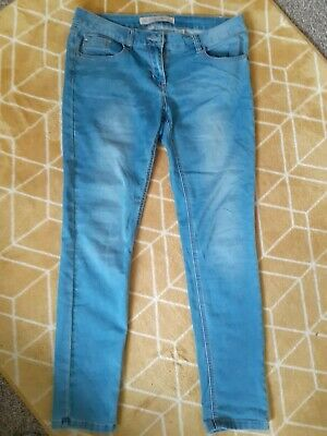 £4.50 • Buy Next Relaxed Skinny Soft Mid Blue Jeans Size 12r