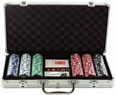 £27.99 • Buy Poker Chips Set, 300PCS Casino Clay Poker Chips Set With High-end Aluminum Alloy