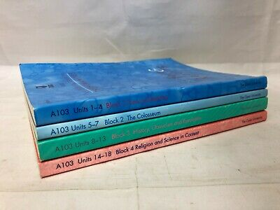 £10 • Buy 4x The Open University Books - An Introduction To Humanities A103 Units 1-18
