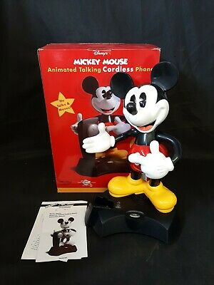 £30 • Buy Mickey Mouse Animated Talking Cordless Phone