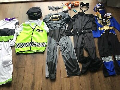 £22 • Buy Boys Fancy Dress Up X5 Costume Bundle Accessories Age 5-6 Years