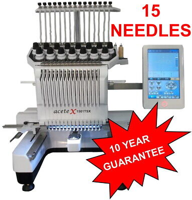 £5940 • Buy Industrial Embroidery Machine - 15 Needles Software Included Worth £1500