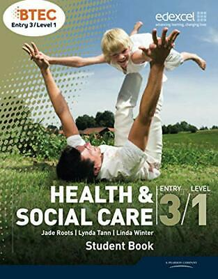 £33.33 • Buy BTEC Entry 3/Level 1 Health And Social Care Student Book