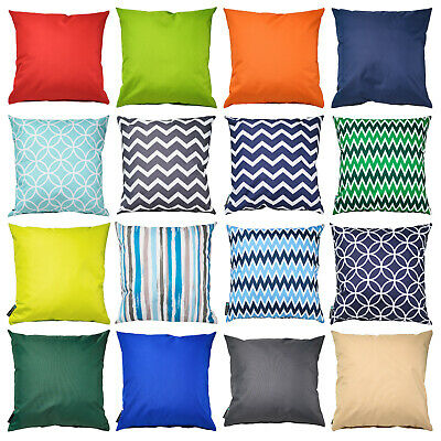 """£12.99 • Buy Waterproof Outdoor Scatter Cushion Pad Filled 18""""(45cm) Seat Bench Garden Pillow"""