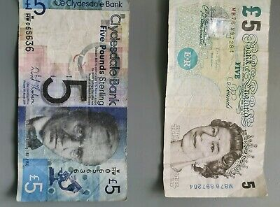 £9 • Buy Paper 5 Pound Note