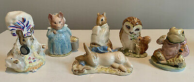 $ CDN25.16 • Buy Vintage Adorable Beatrix Potter Figurines - Excellent, 6 To Choose From