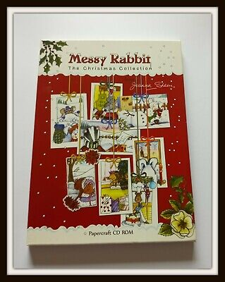 £3 • Buy Joanna Sheen Messy Rabbit Christmas Collection CD Rom Papercraft Card Making