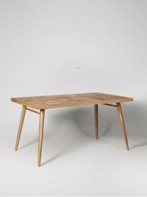£350 • Buy Swoon Sibley Dining Table - Mango Wood - NEW