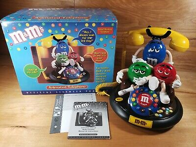 $44.95 • Buy M&M 's Candy Animated Talking Telephone Phone VGC