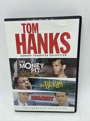 £3.59 • Buy Tom Hanks Comedy Favorites Collection The Money Pit The Burbs Dragnet