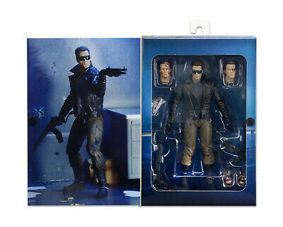 £38.99 • Buy NECA Terminator Police Station Assault T-800 7  Scale Action Figure - IN STOCK