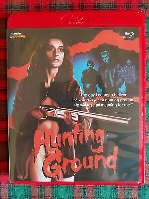 £20 • Buy Hunting Ground - Blu Ray - Limited Edition - Mondo Macabro - Red Case