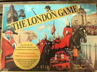 £5 • Buy The London Game - Classic 1960's Boardgame