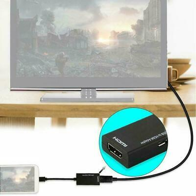$ CDN5.35 • Buy Universal Micro USB To HDMI MHL Cable 1080P HD TV Adapter For Android Phone Y0Q9